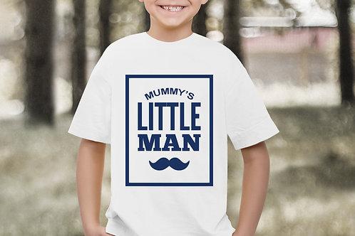 Mummy's Little Man T-Shirt