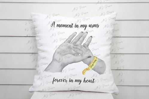 Baby Loss / Baby Memorial Personalised Cushion