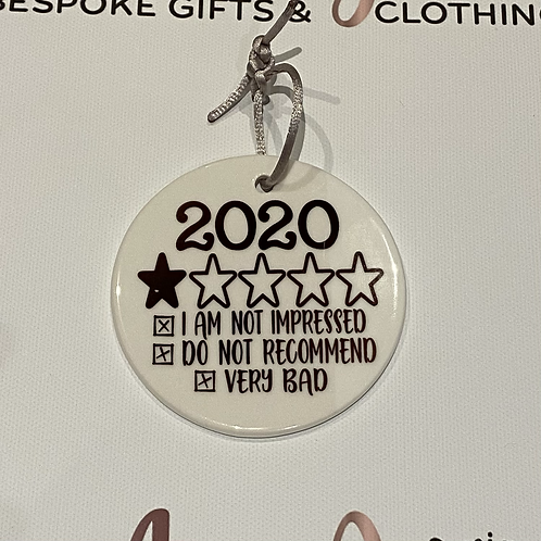 2020 one star rating Christmas decoration