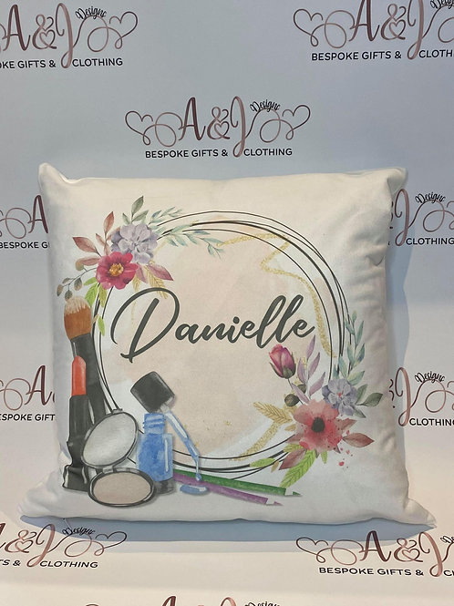 Personalised Makeup Lovers Cushion