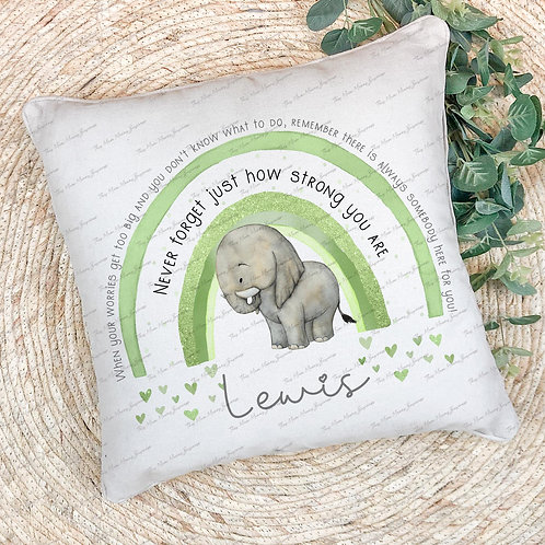 Personalised How Strong You Are Cushion