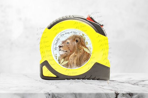 My Daddy - The King of DIY, Lion Tape Measure
