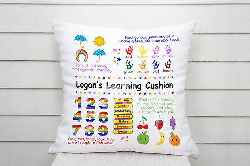 Personalised Learning Cushion (3 options)