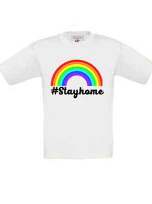 #Stayhome Kid's T-Shirt