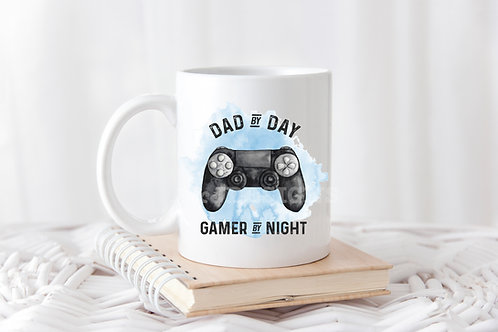 Dad by Day, Gamer by Night Mug