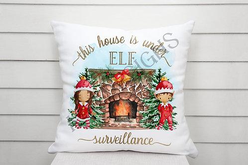 Elf Surveillance Cushion