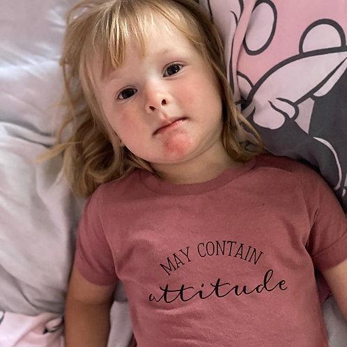 May Contain Attitude Tshirt