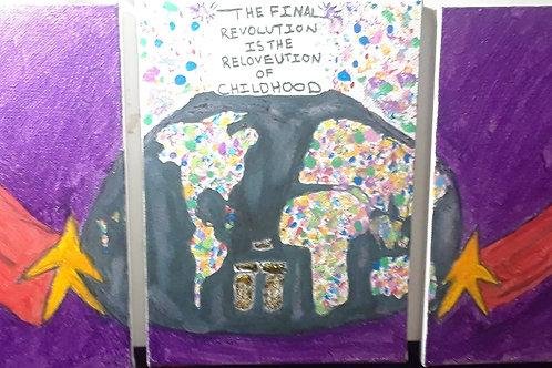 Original Art | Final Revolution - Childhood | Framed Print Signed