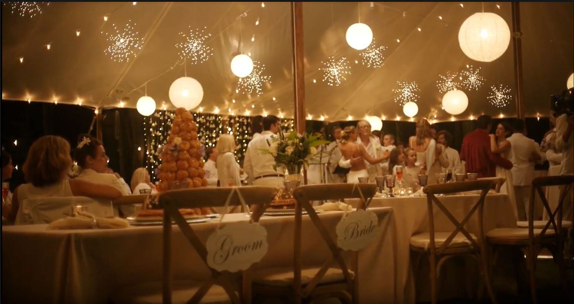 Film Still - Wedding Tent