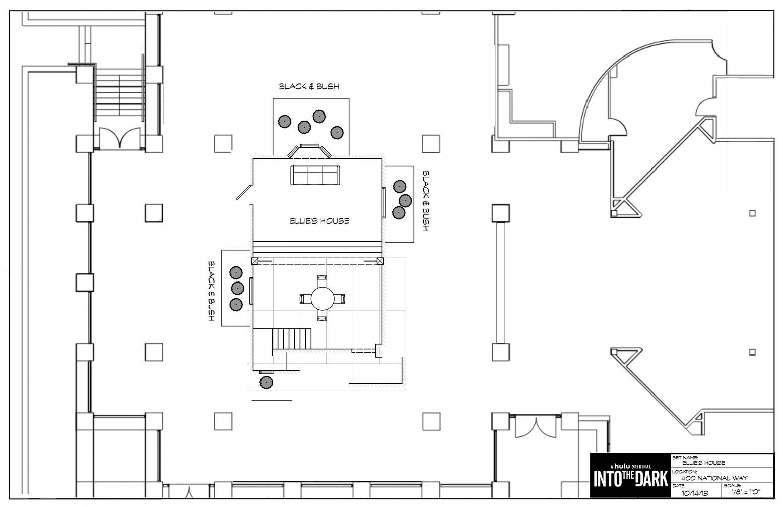 Ellie's House Set Floorplan