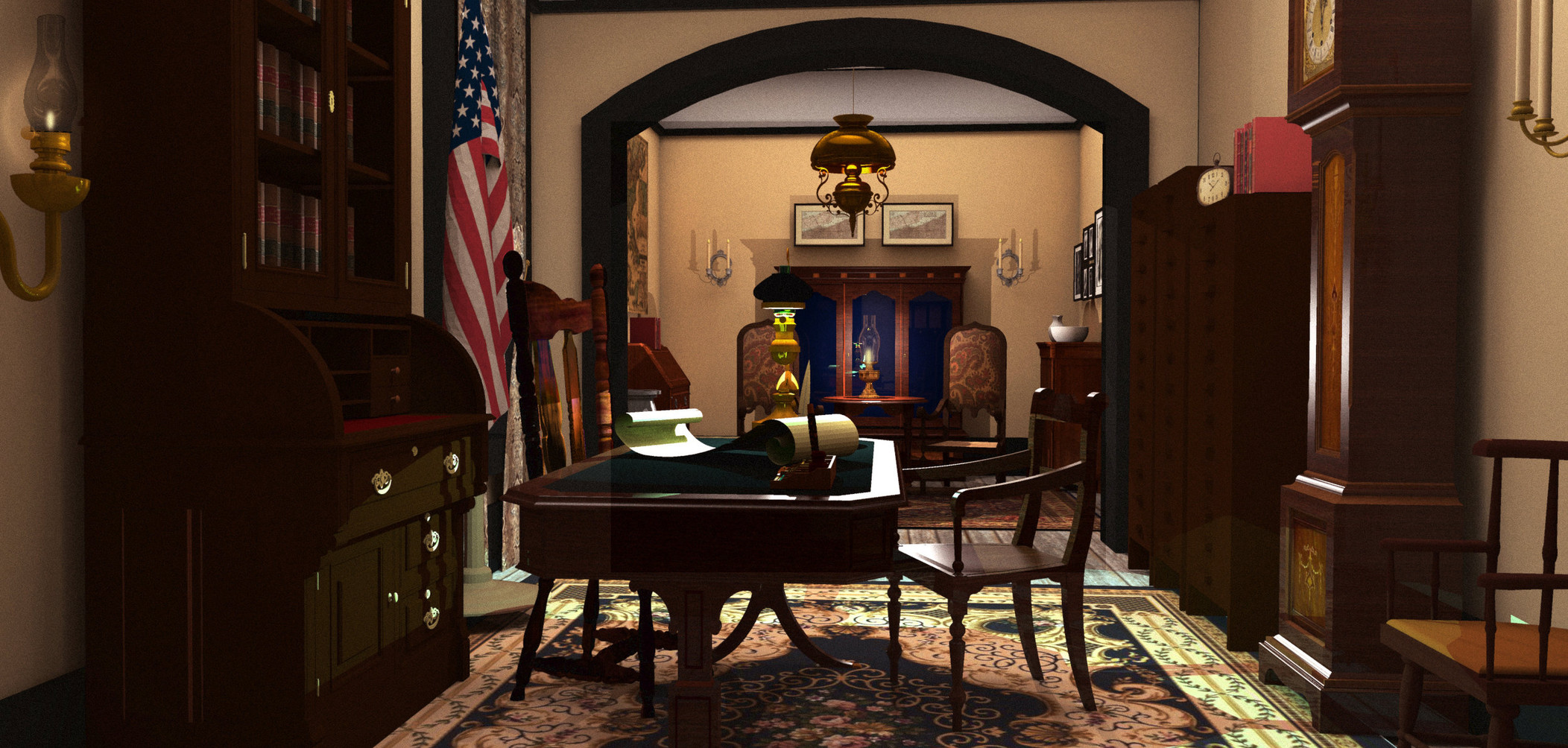 Concept Art - Governor's Office