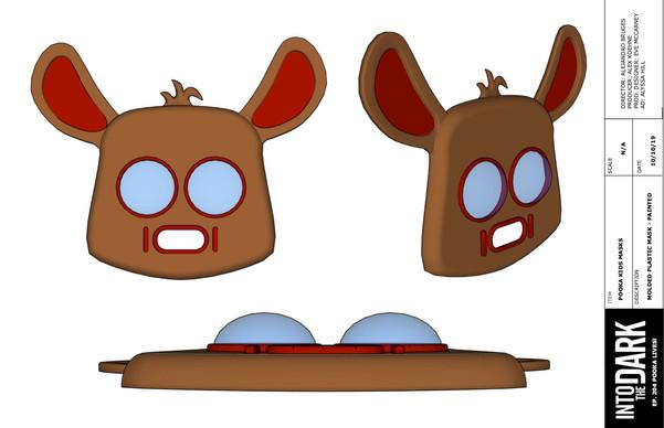 Pooka Masks Design