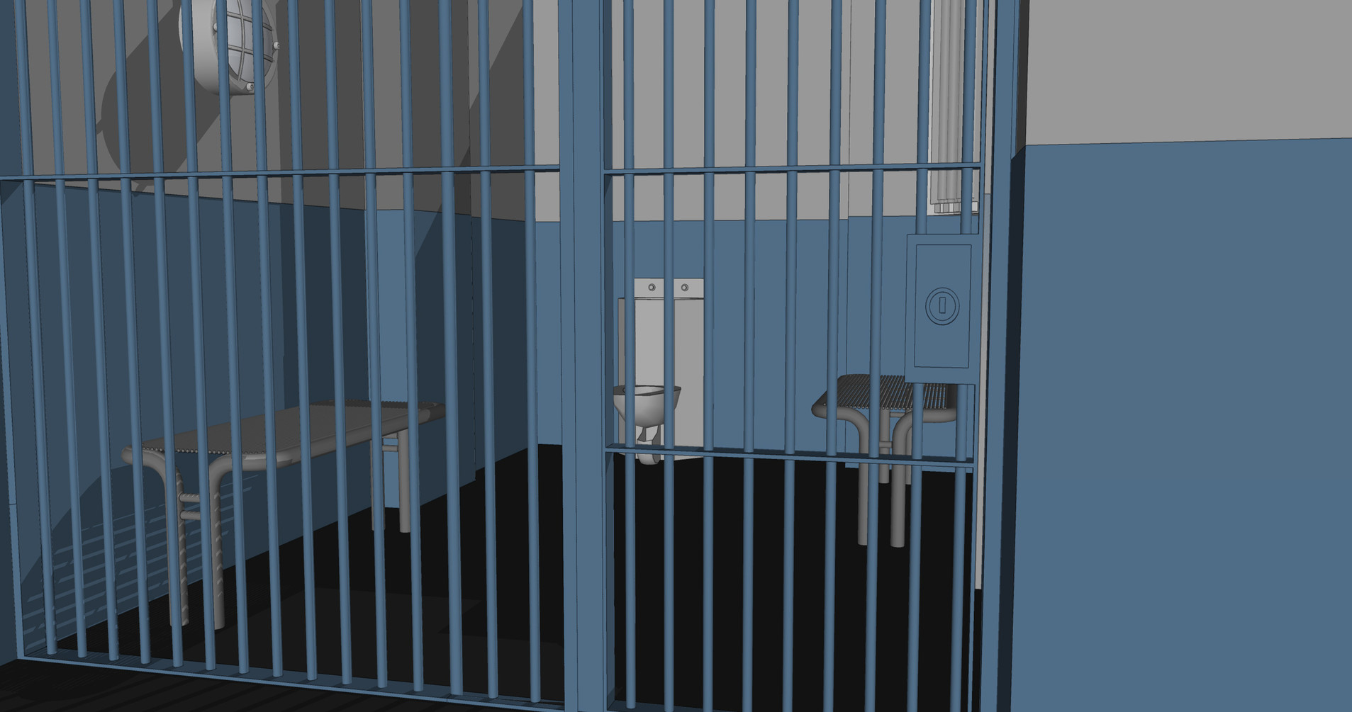 Jail Cell Sketch