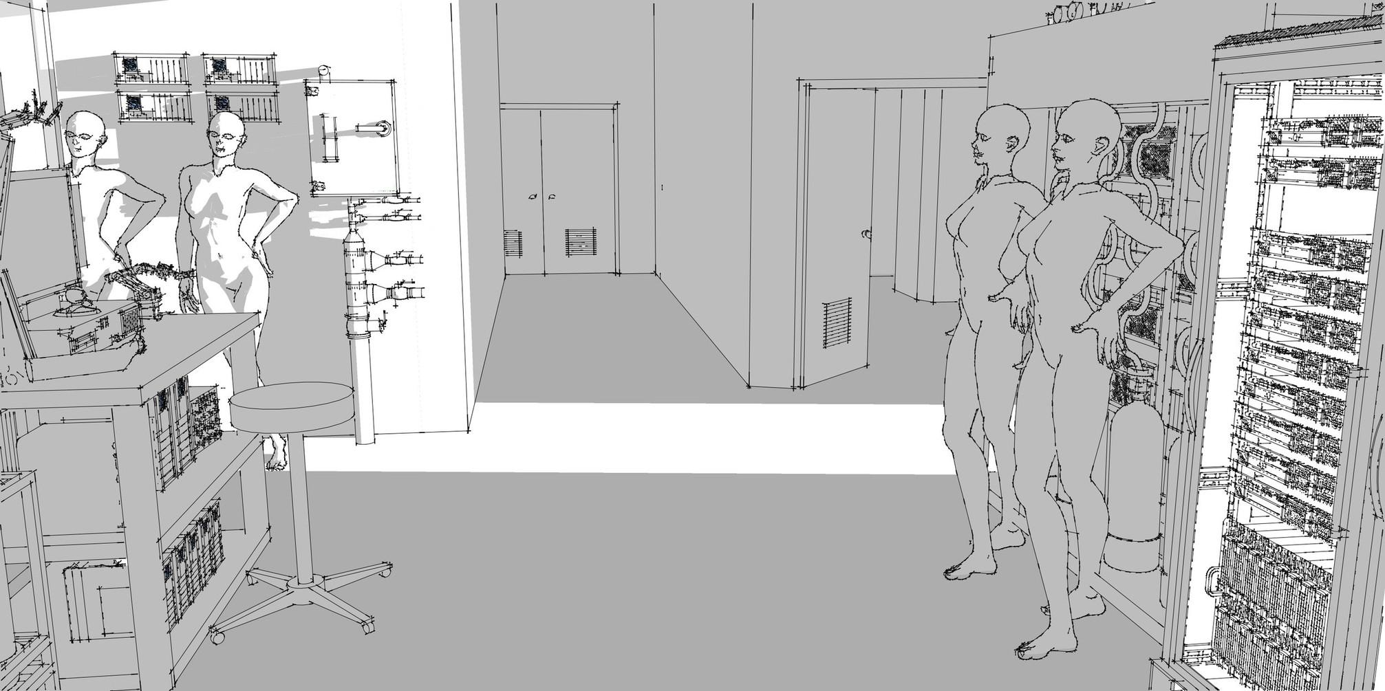 Factory Lab Sketch