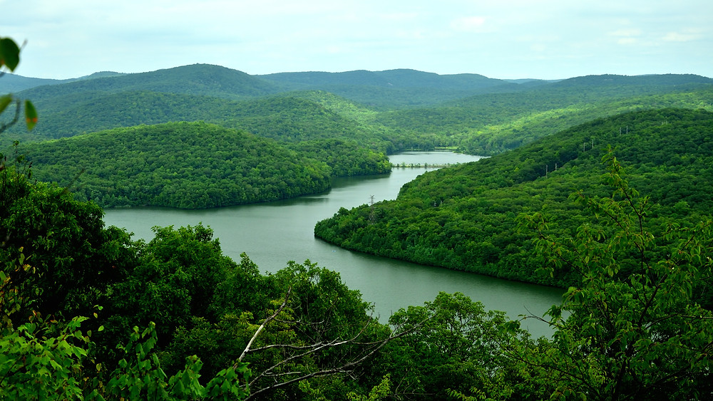 Wanaque River flowing into Monksville Reservoir