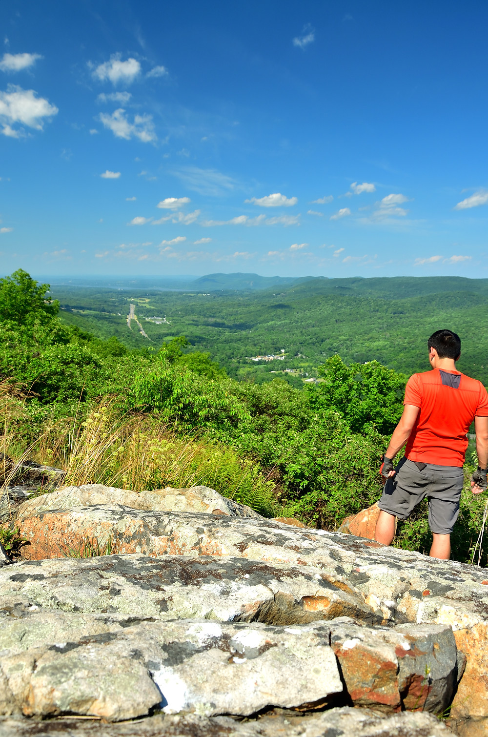 One last look at the main High Knob overlook
