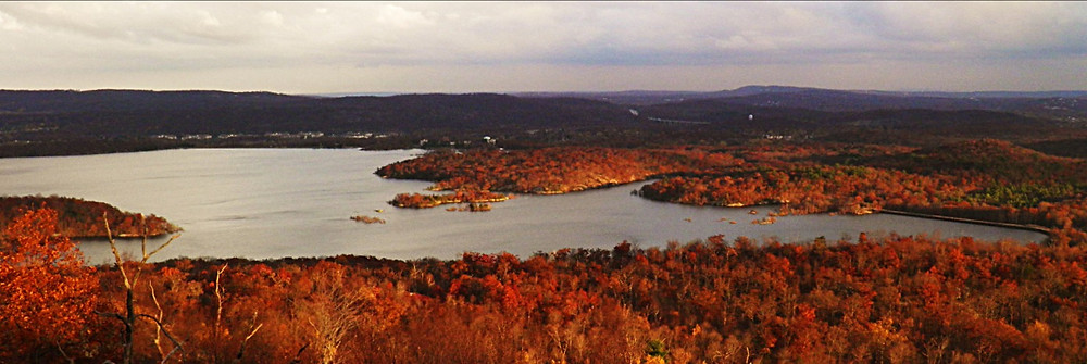 Wanaque Reservoir from Carris Hill
