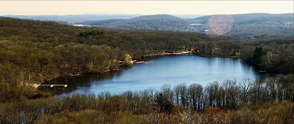 View of Henion Pond from Table Rock