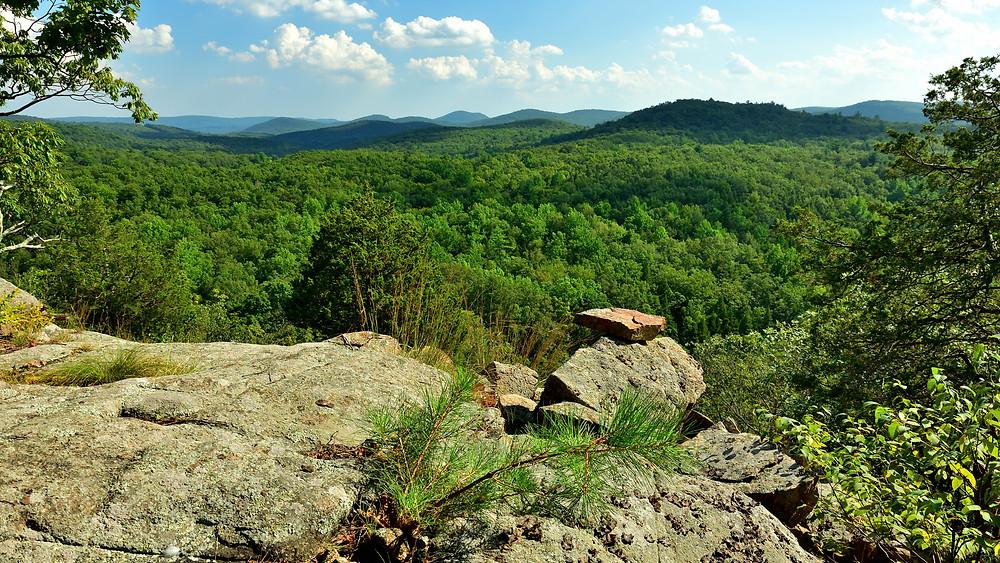 The ledge at Jennings Mountain