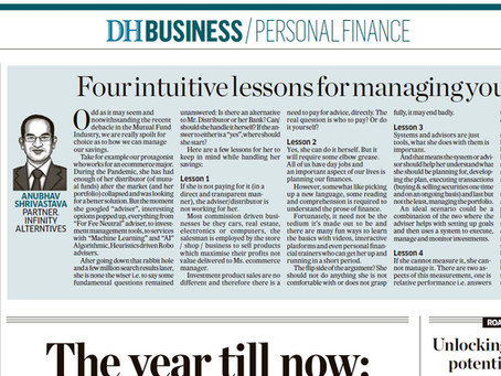 Fed up of 'advisors' and your Bank? Read on