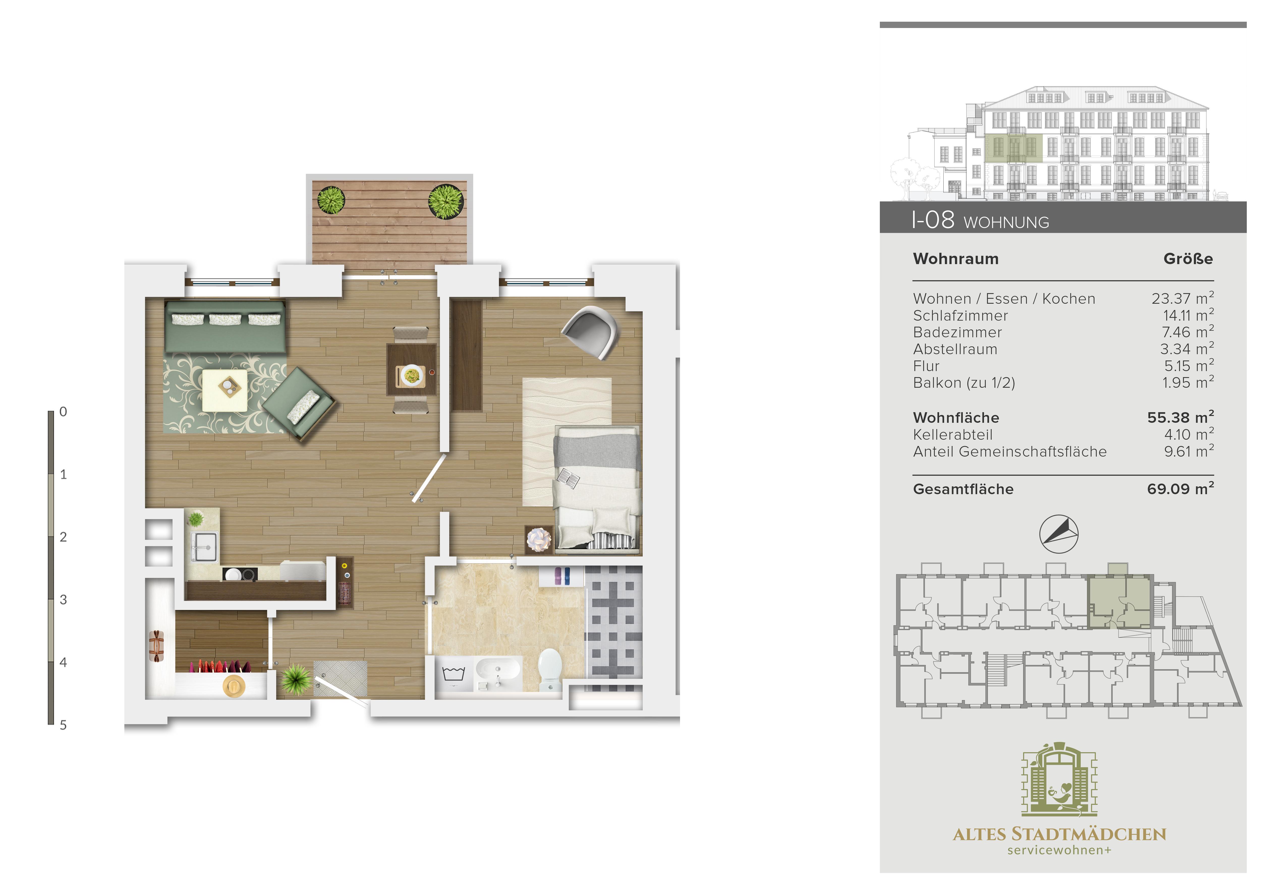 Wohnung I-08