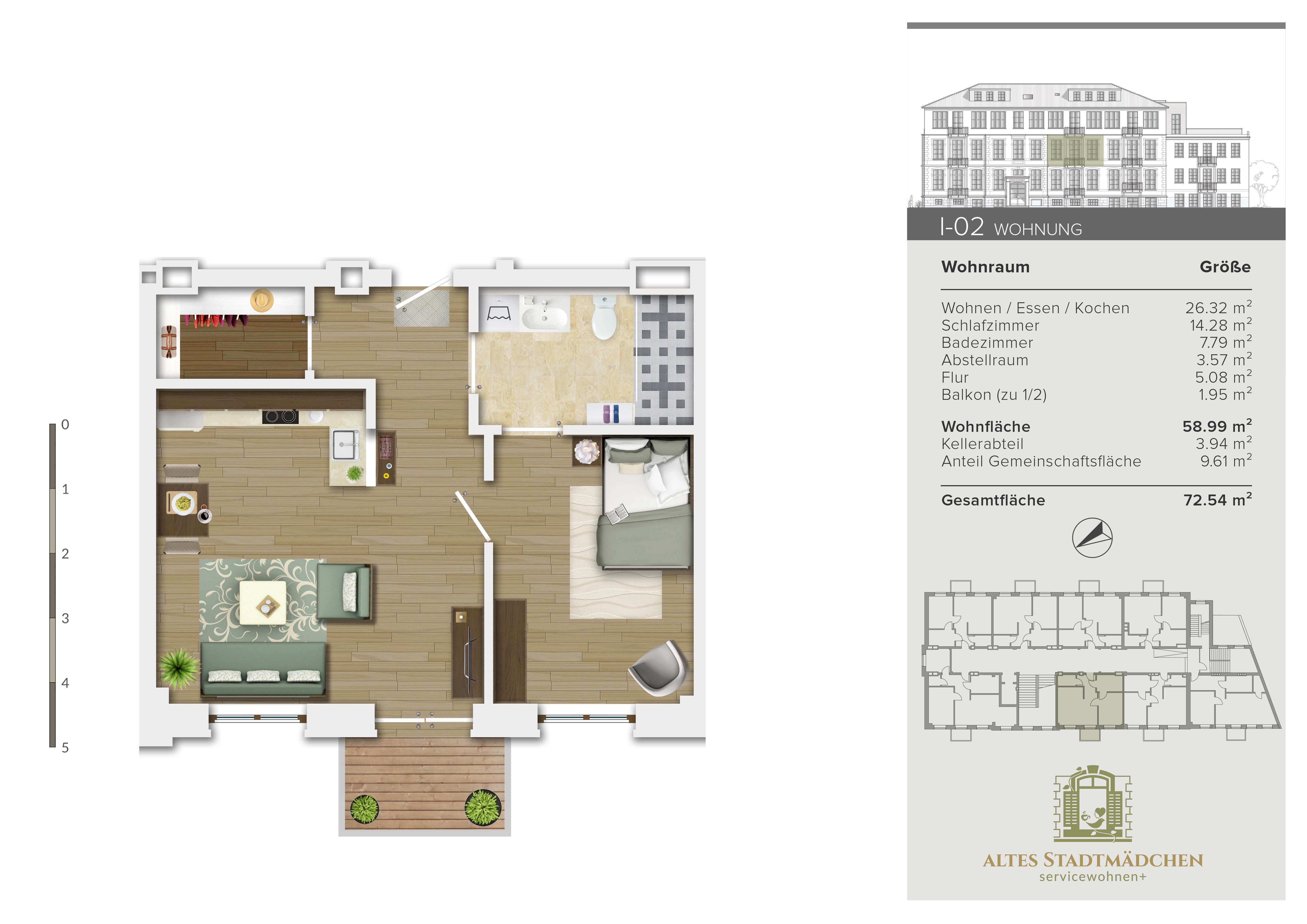Wohnung I-02
