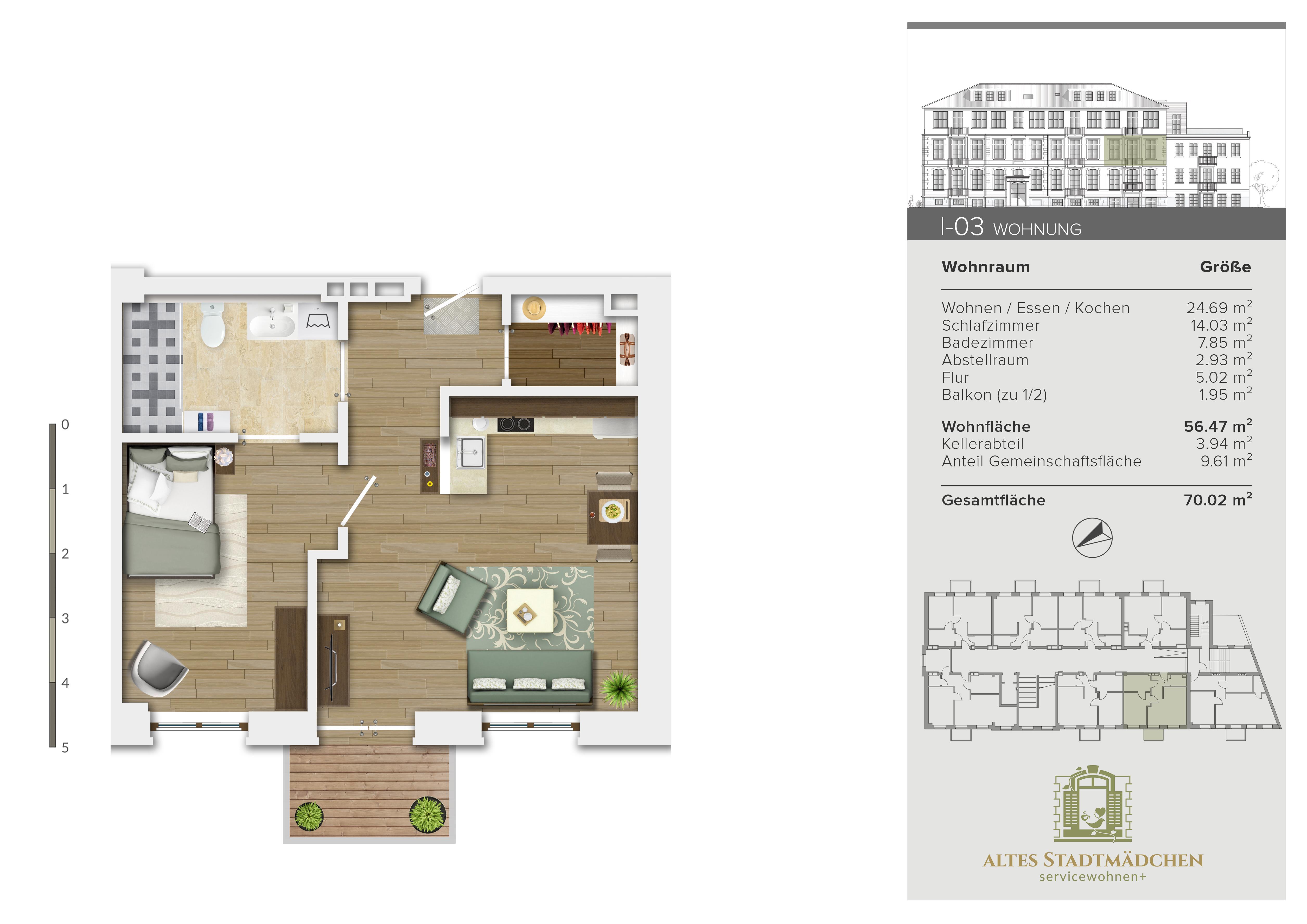 Wohnung I-03