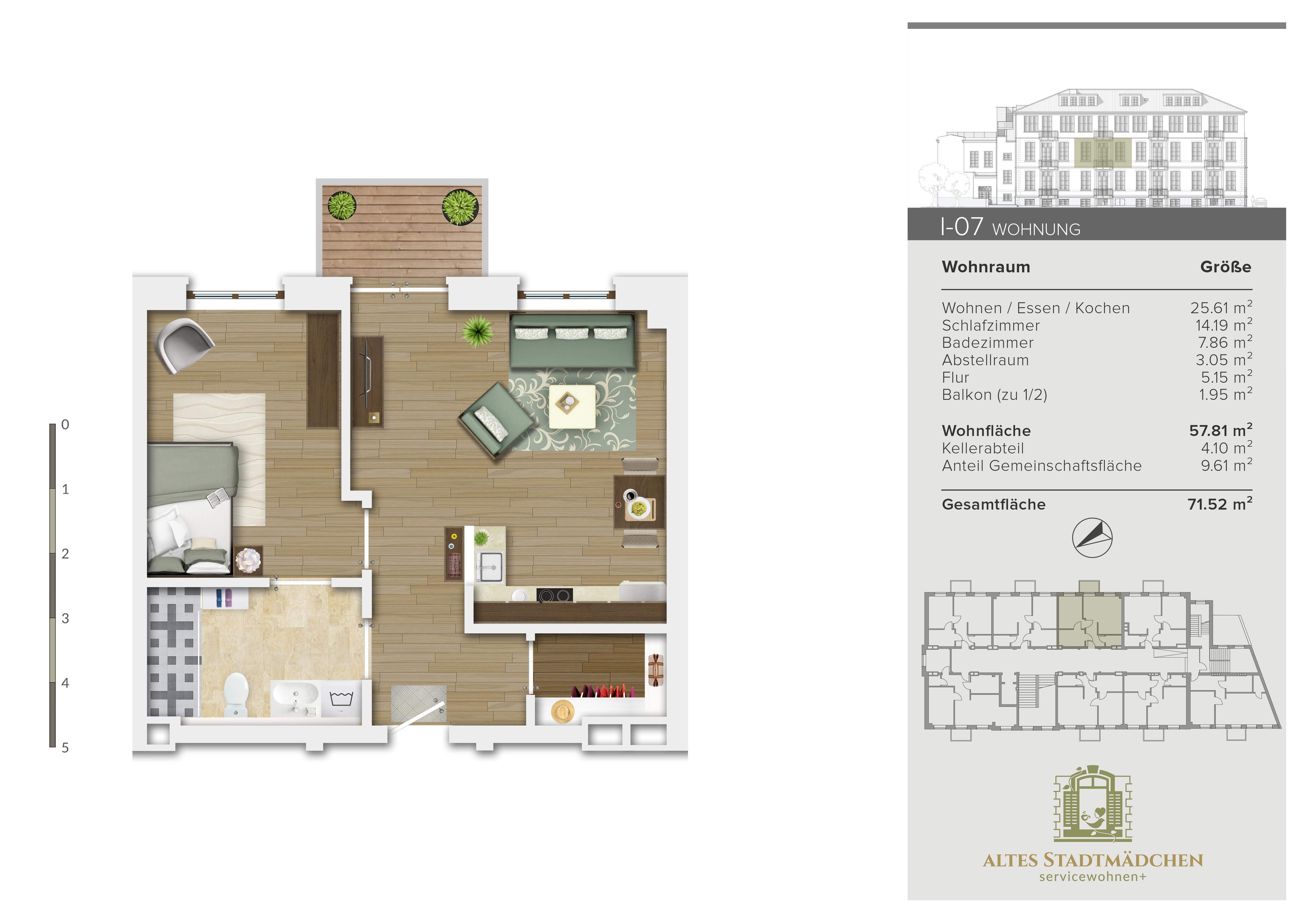 Wohnung I-07
