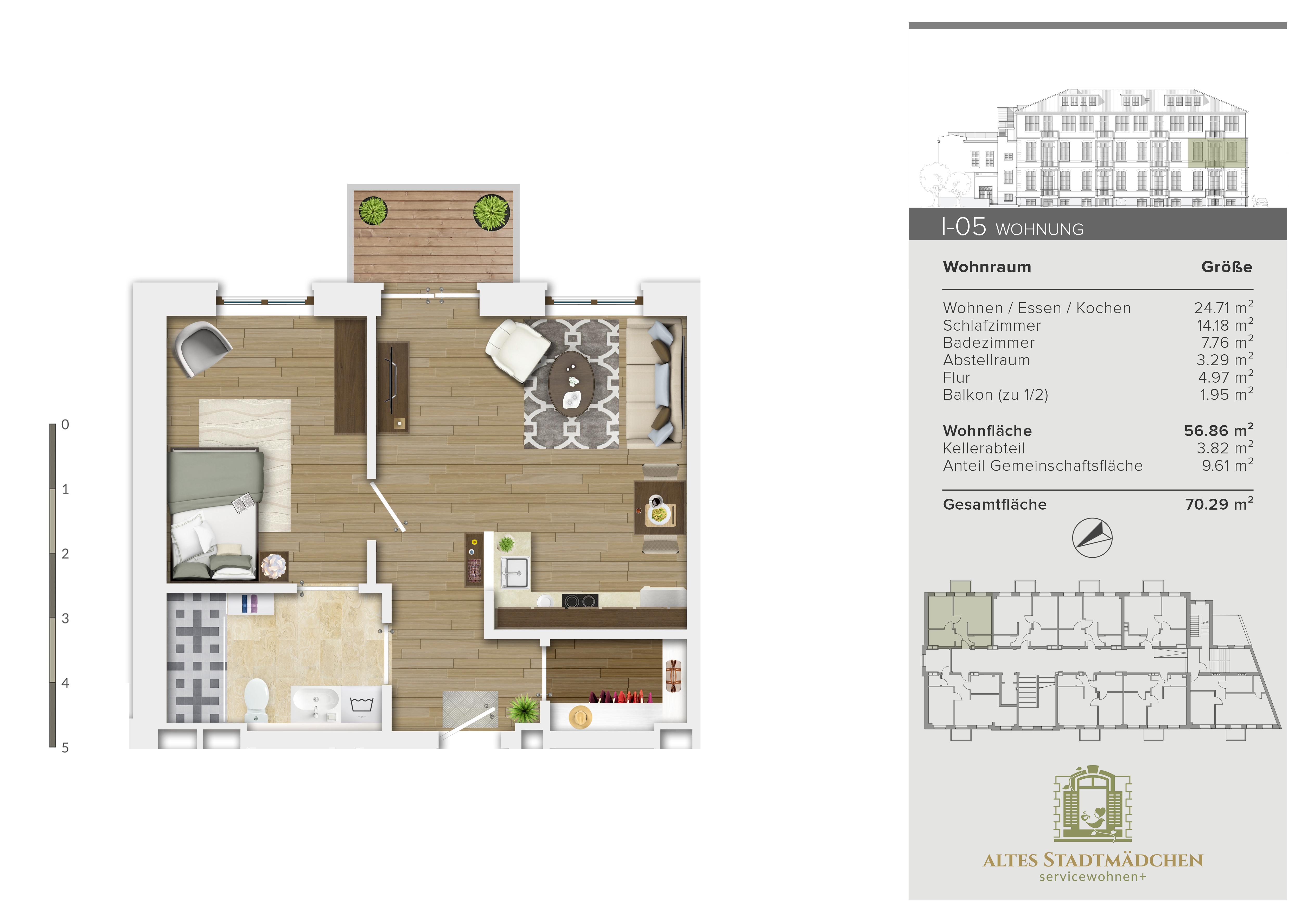 Wohnung I-05