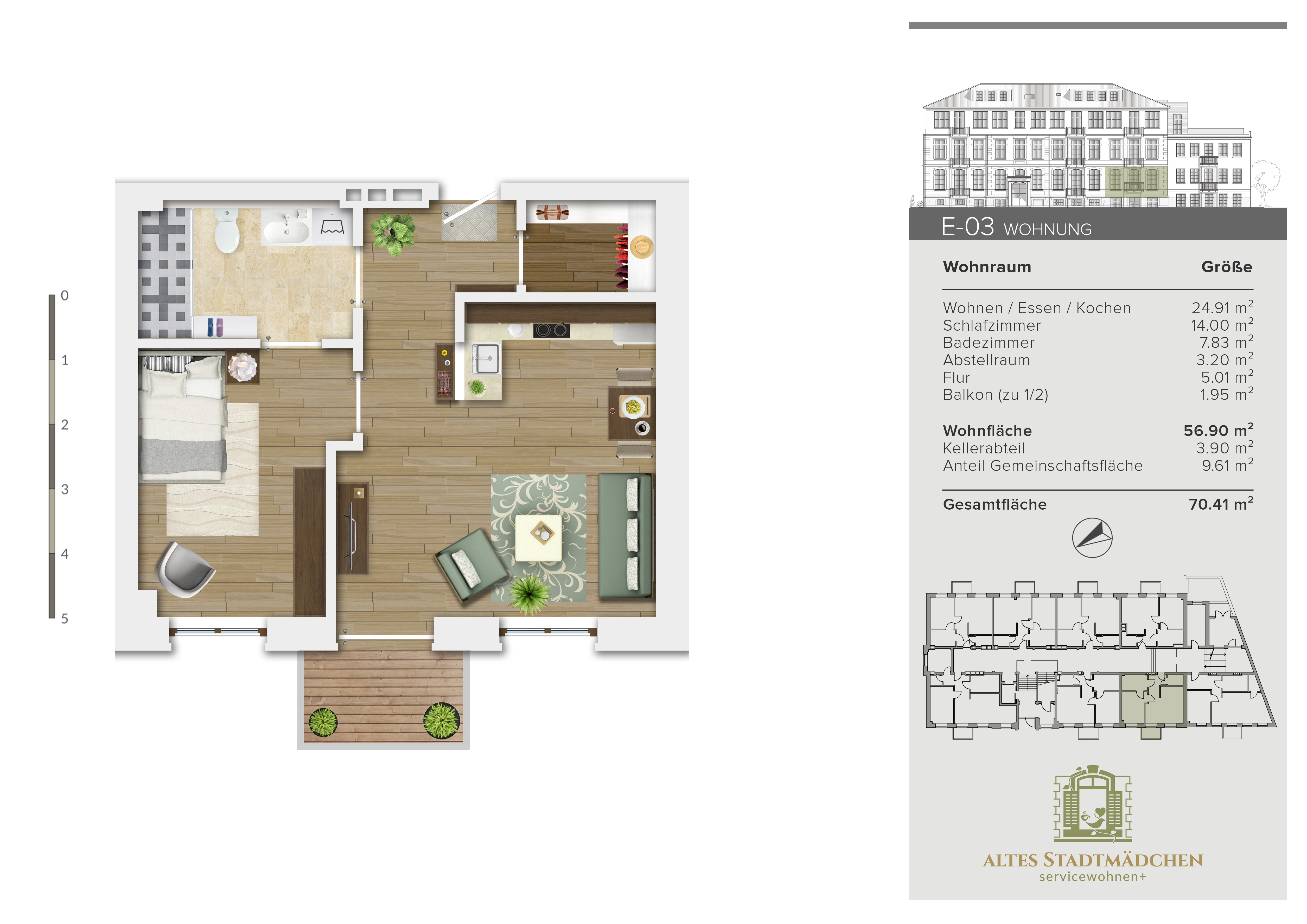 Wohnung E-03