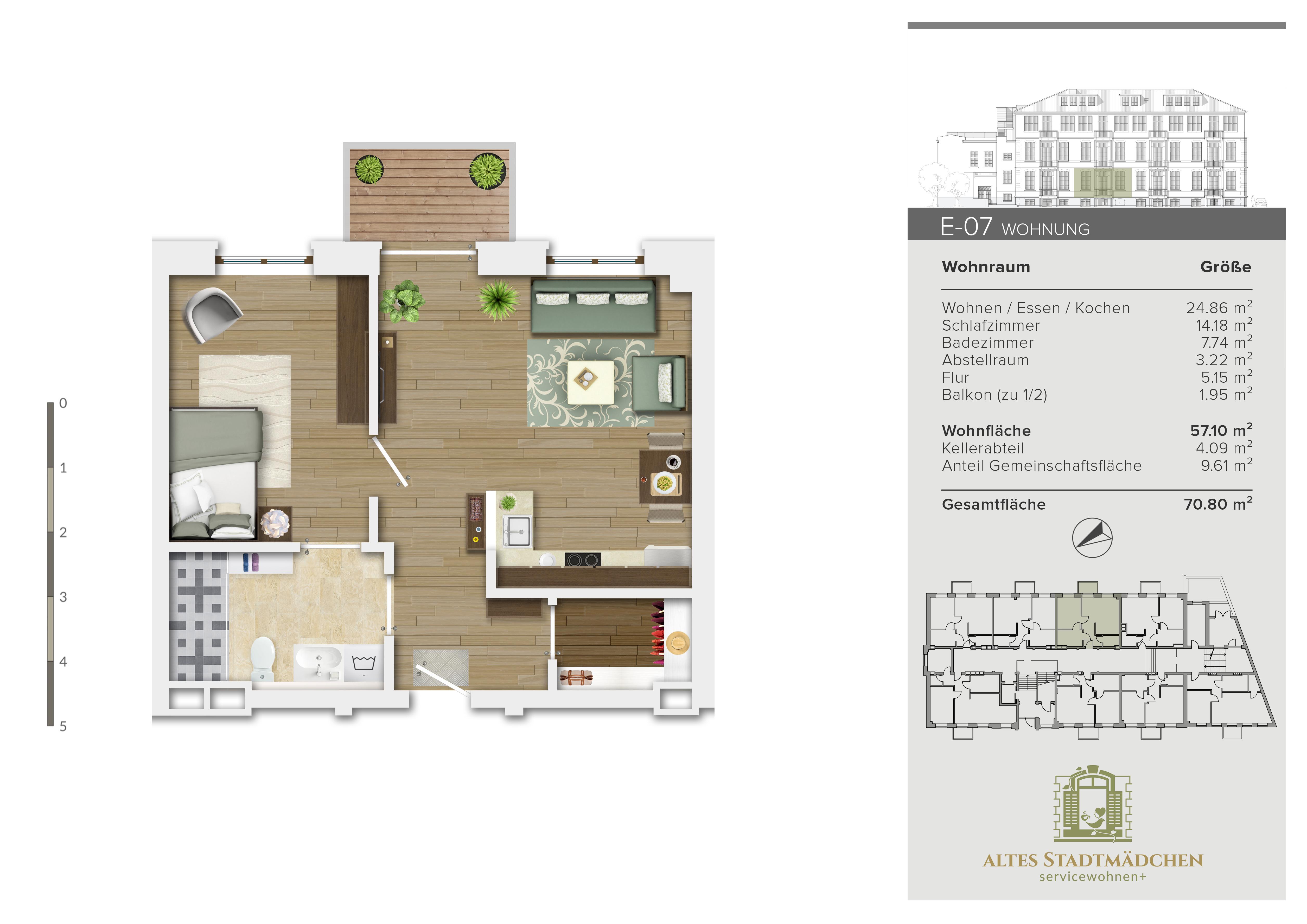 Wohnung E-07