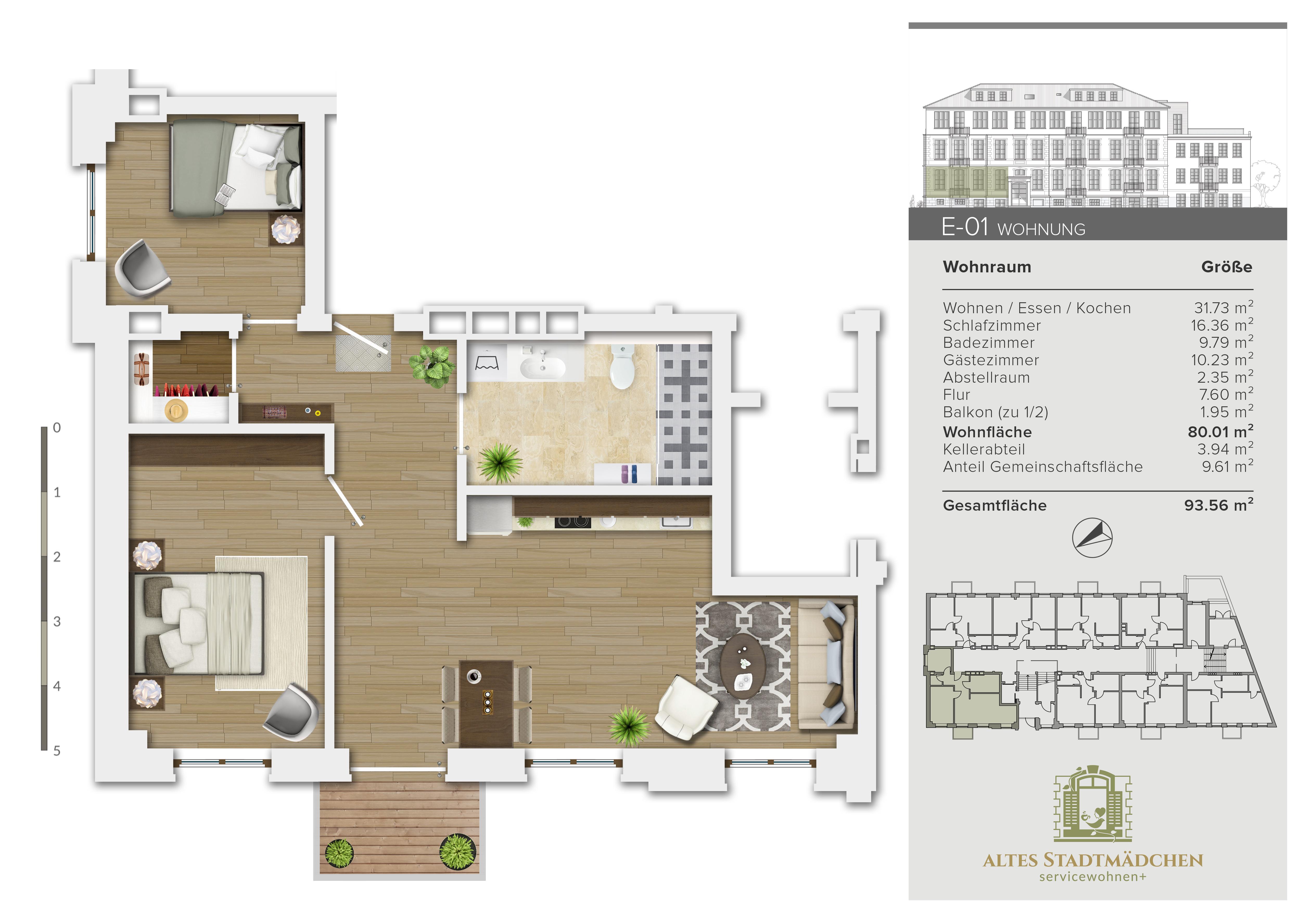 Wohnung E-01