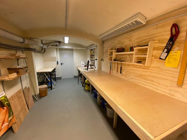 Werkstatt & Hobbyraum
