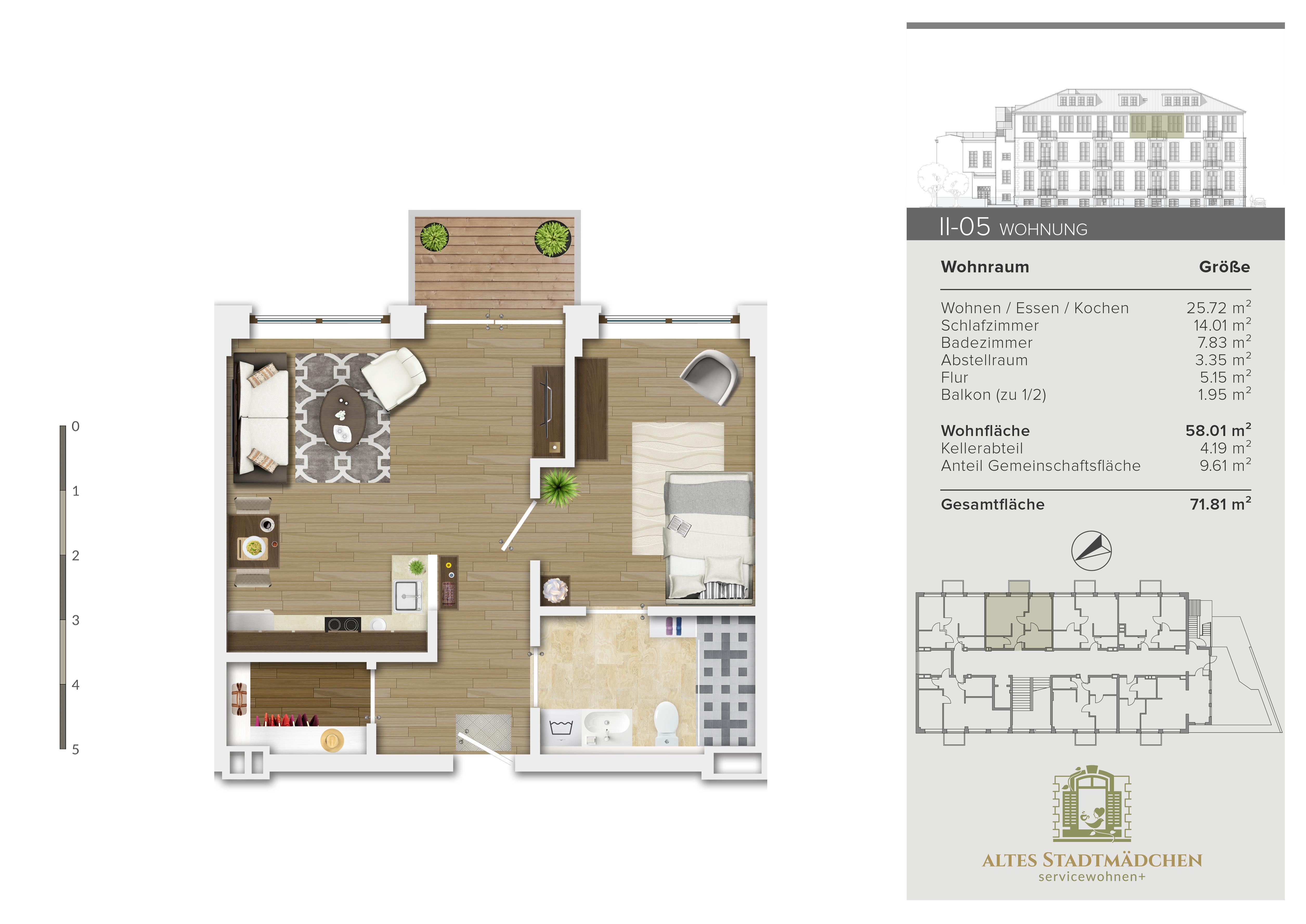 Wohnung II-05