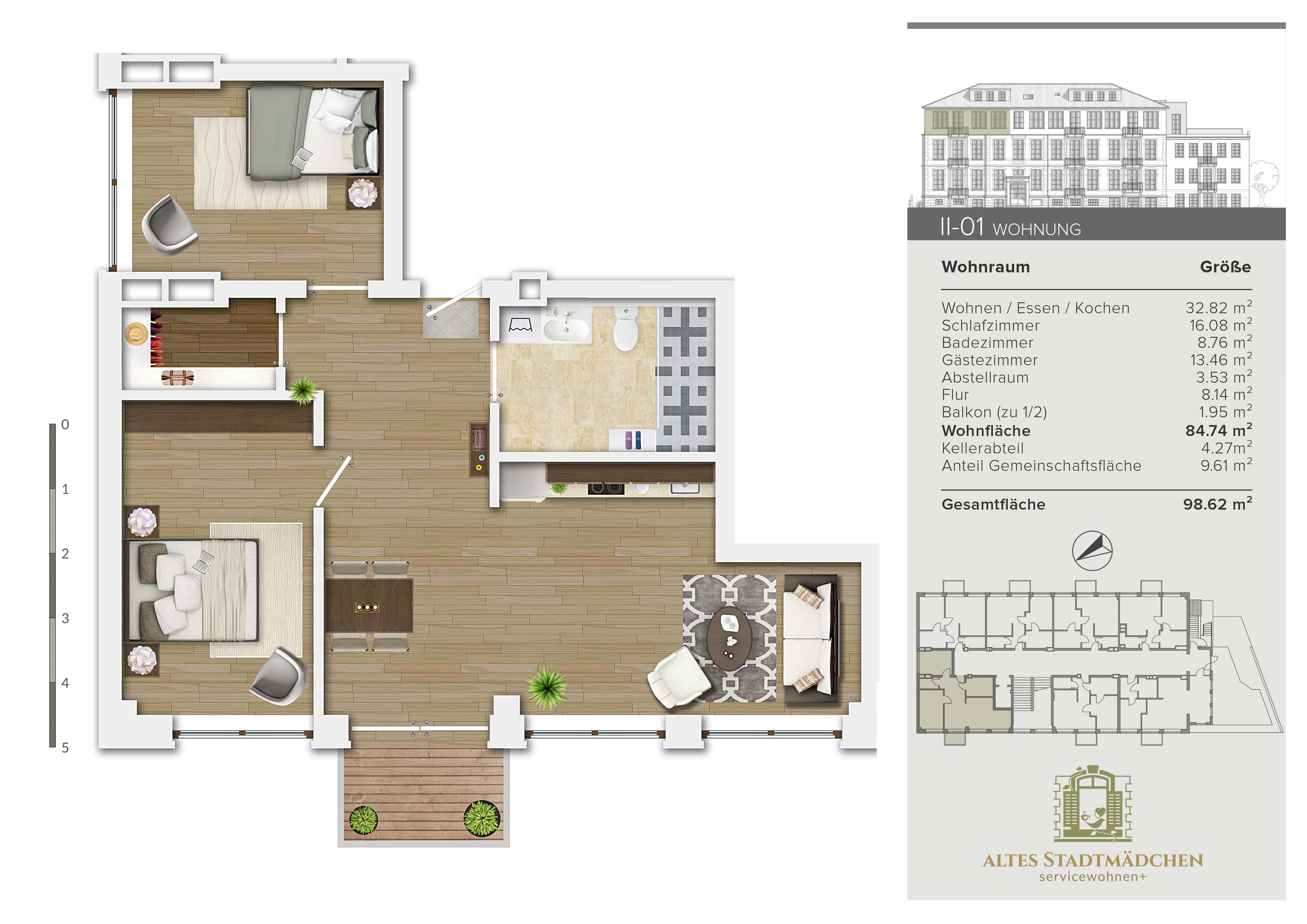 Wohnung II-01