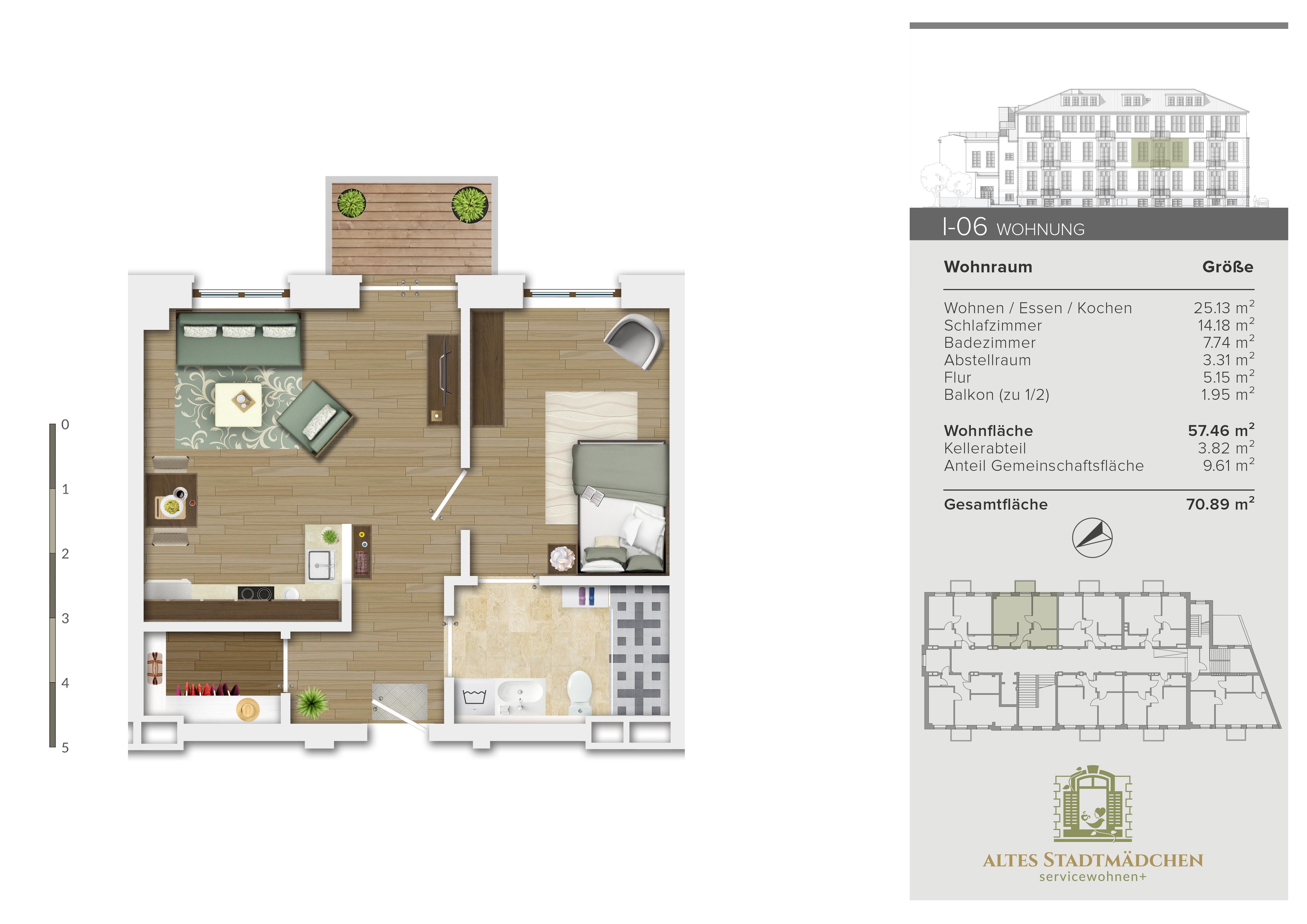 Wohnung I-06