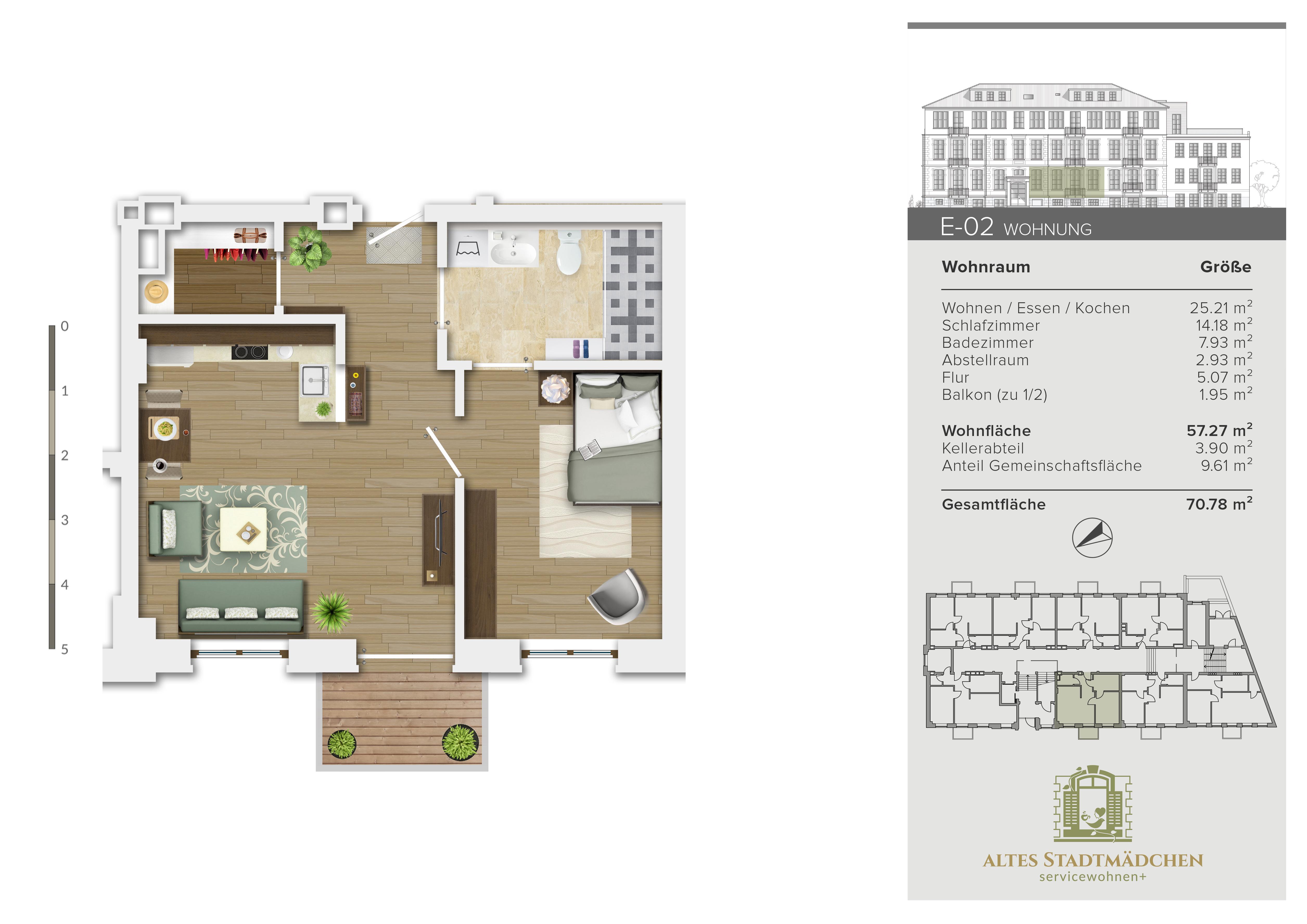 Wohnung E-02