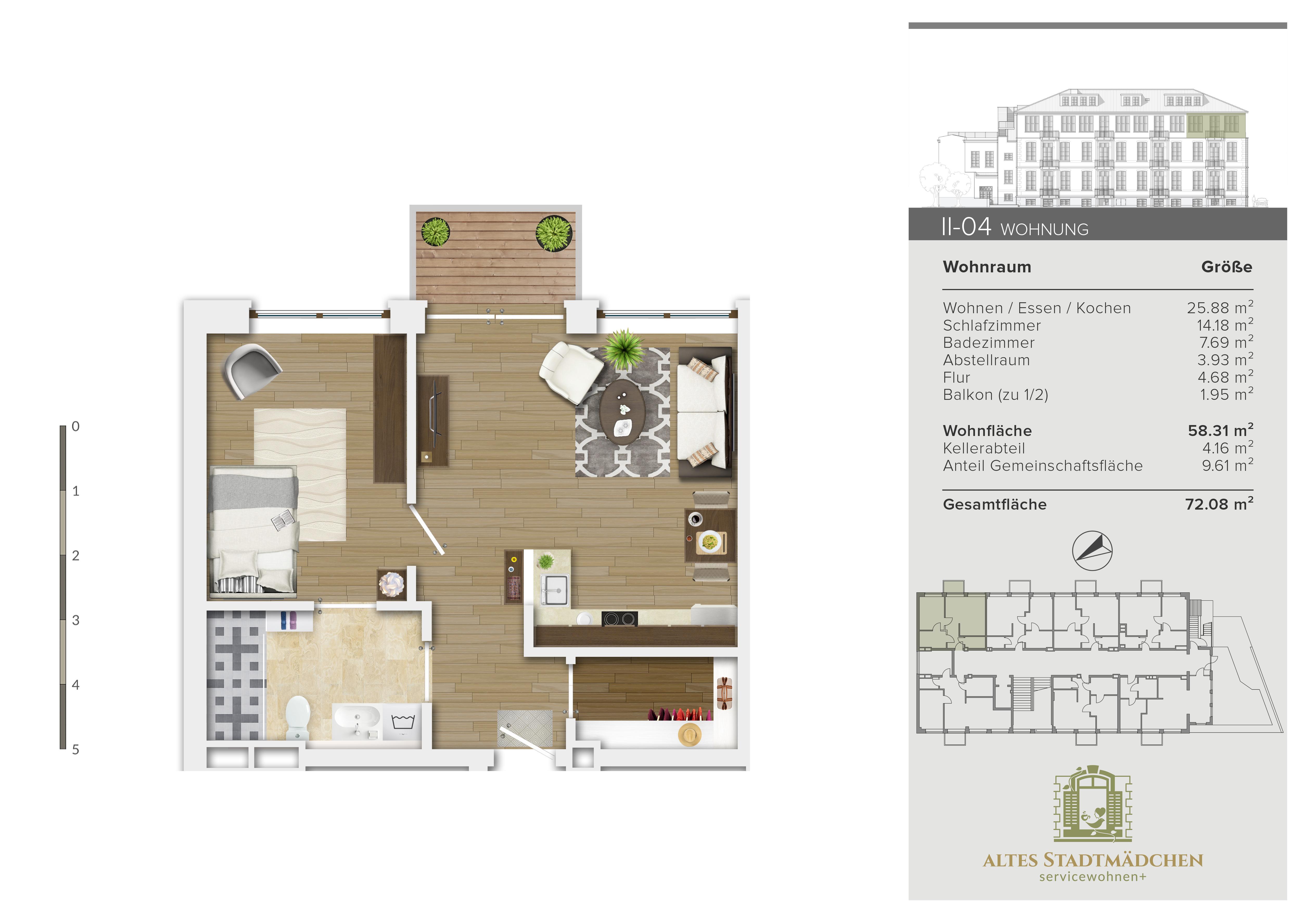 Wohnung II-04