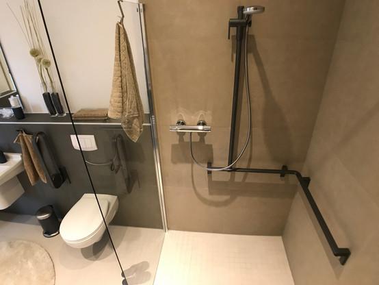 Mosaikfliesen im Duschbereich