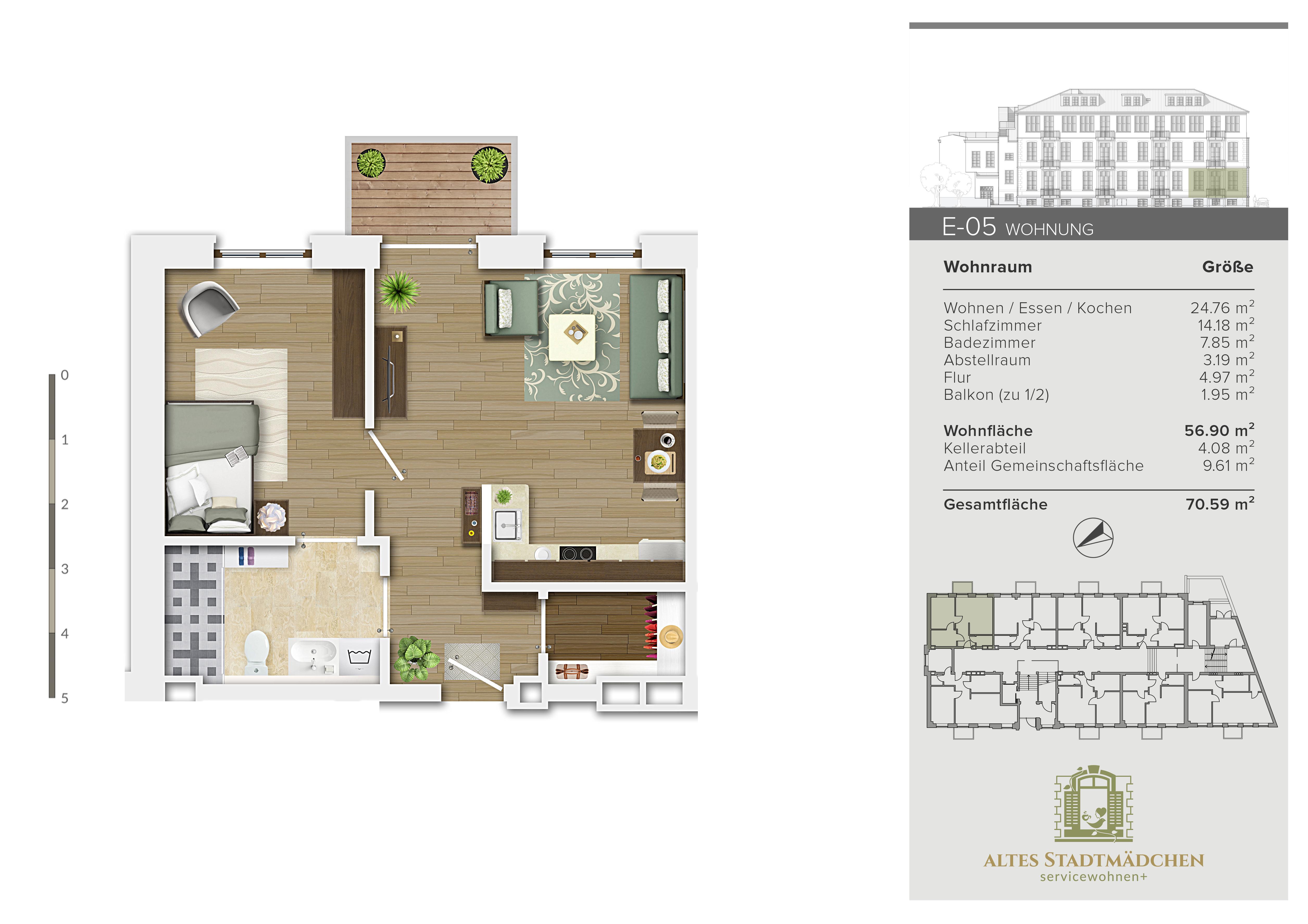 Wohnung E-05
