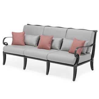 Scroll: Třímístné sofa