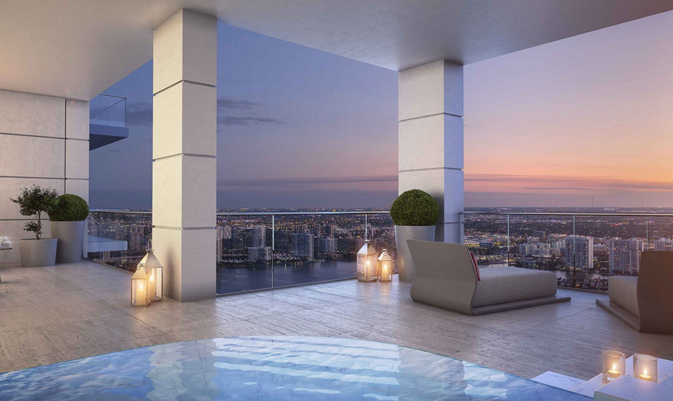Donatello west terrace