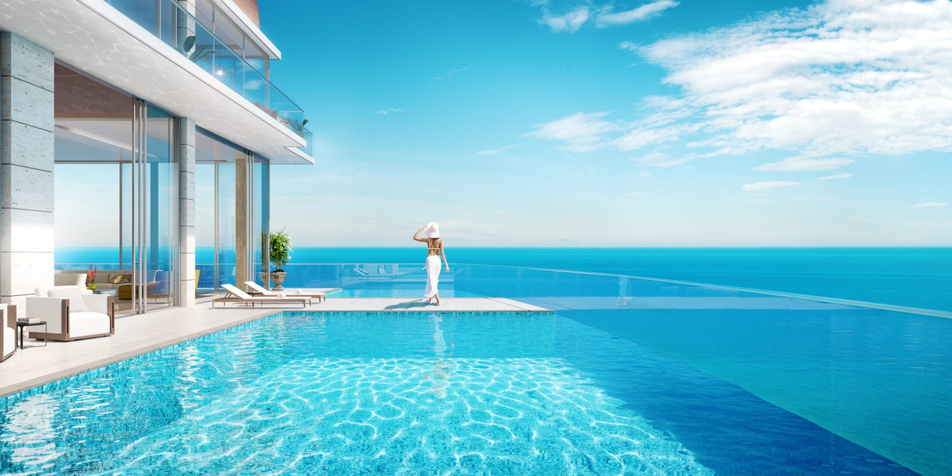 Casa del Mare pool