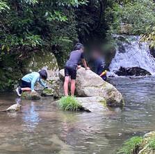 山、川遊び1