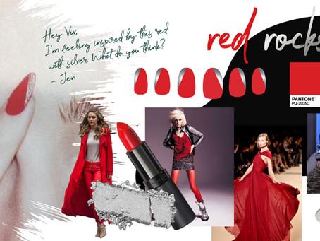Red Rocks Nail Art Inspiration