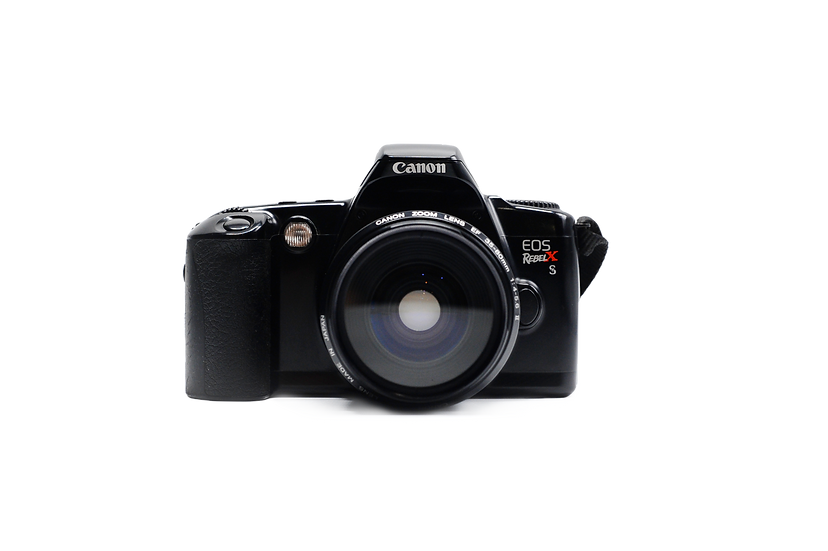 Canon EOS Rebel XS Film Camera with 35-80mm II Zoom Lens