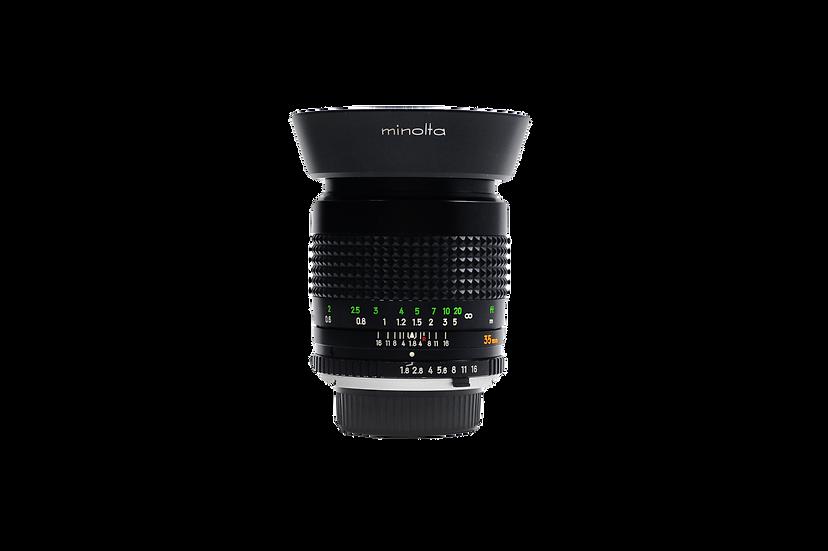 Minolta MC 35mm f/1.8 Lens