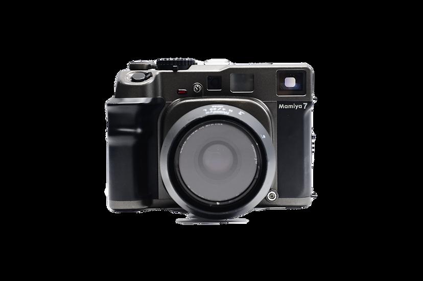 Mamiya 7 Rangefinder Medium Format Film Camera w/ 80mm Lens