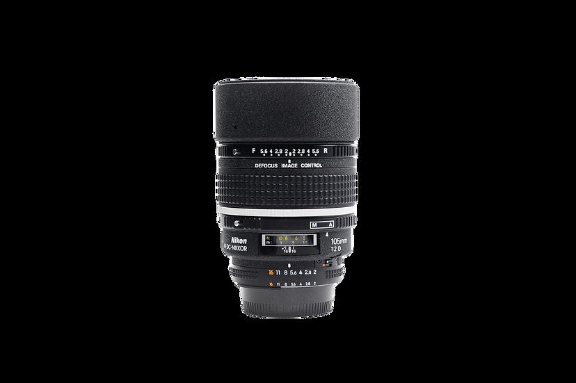 Nikon Telephoto AF DC (Defocus Control) Nikkor 105m