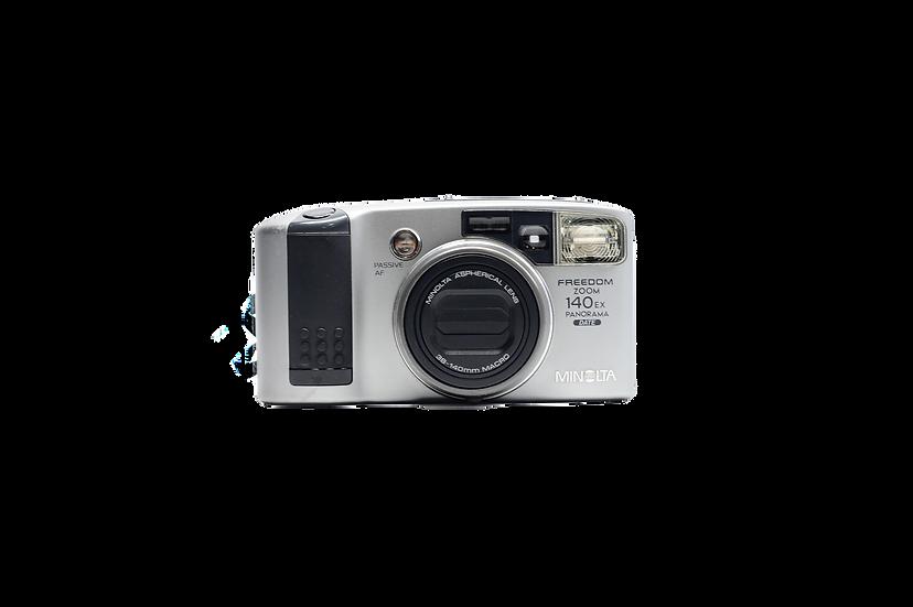 Minolta Freedom Zoom 140EX Panorama Film Camera